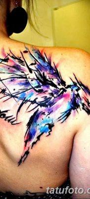 Фото тату птицы для девушек от 07.08.2018 №079 – bird tattoo for girls – tatufoto.com