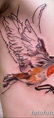Фото тату птицы для девушек от 07.08.2018 №084 – bird tattoo for girls – tatufoto.com