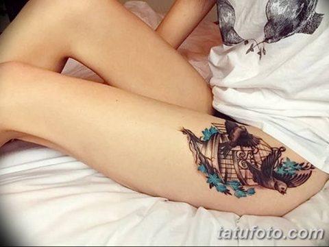 Фото тату птицы для девушек от 07.08.2018 №101 - bird tattoo for girls - tatufoto.com