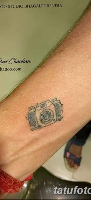 Фото тату фотоаппарат от 03.08.2018 №001 – tattoo photo camera – tatufoto.com