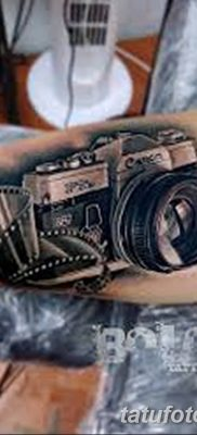 Фото тату фотоаппарат от 03.08.2018 №163 – tattoo photo camera – tatufoto.com