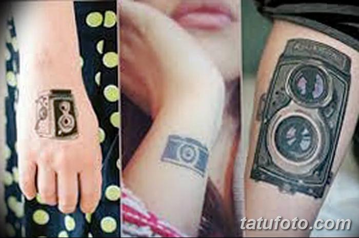 Фото тату фотоаппарат от 03.08.2018 №170 - tattoo photo camera - tatufoto.com