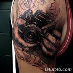 Фото тату фотоаппарат от 03.08.2018 №186 - tattoo photo camera - tatufoto.com