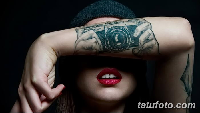 Фото тату фотоаппарат от 03.08.2018 №198 - tattoo photo camera - tatufoto.com