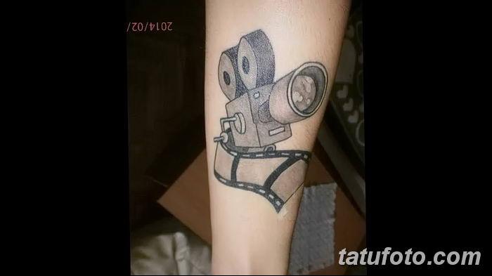 Фото тату фотоаппарат от 03.08.2018 №202 - tattoo photo camera - tatufoto.com