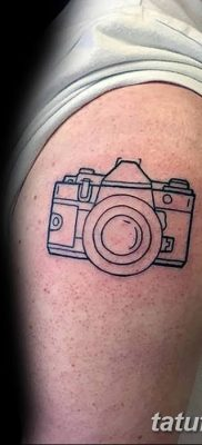 Фото тату фотоаппарат от 03.08.2018 №213 – tattoo photo camera – tatufoto.com