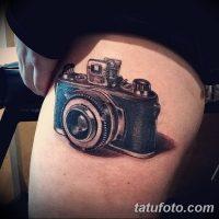 Значение тату фотоаппарат