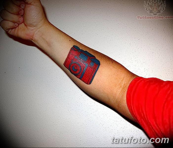 Фото тату фотоаппарат от 03.08.2018 №224 - tattoo photo camera - tatufoto.com