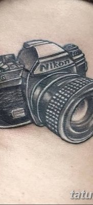 Фото тату фотоаппарат от 03.08.2018 №225 – tattoo photo camera – tatufoto.com