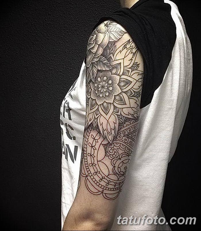 Фото черно-белые тату от 08.08.2018 №018 - black and white tattoos - tatufoto.com