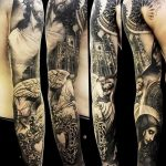 Фото черно-белые тату от 08.08.2018 №021 - black and white tattoos - tatufoto.com