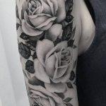 Фото черно-белые тату от 08.08.2018 №024 - black and white tattoos - tatufoto.com