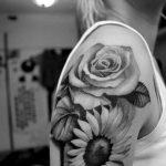 Фото черно-белые тату от 08.08.2018 №032 - black and white tattoos - tatufoto.com