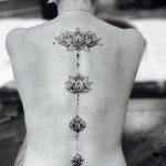 Фото черно-белые тату от 08.08.2018 №033 - black and white tattoos - tatufoto.com