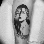 Фото черно-белые тату от 08.08.2018 №037 - black and white tattoos - tatufoto.com