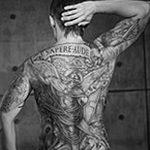 Фото черно-белые тату от 08.08.2018 №040 - black and white tattoos - tatufoto.com