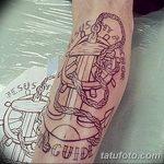 Фото черно-белые тату от 08.08.2018 №041 - black and white tattoos - tatufoto.com