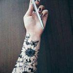 Фото черно-белые тату от 08.08.2018 №043 - black and white tattoos - tatufoto.com