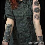 Фото черно-белые тату от 08.08.2018 №044 - black and white tattoos - tatufoto.com