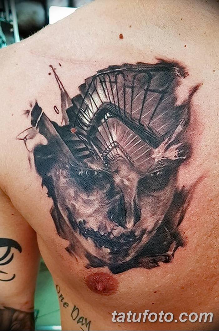 Фото черно-белые тату от 08.08.2018 №052 - black and white tattoos - tatufoto.com
