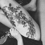 Фото черно-белые тату от 08.08.2018 №055 - black and white tattoos - tatufoto.com