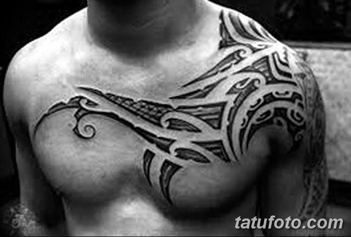Фото черно-белые тату от 08.08.2018 №060 - black and white tattoos - tatufoto.com