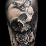 Фото черно-белые тату от 08.08.2018 №062 - black and white tattoos - tatufoto.com