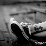 Фото черно-белые тату от 08.08.2018 №069 - black and white tattoos - tatufoto.com