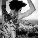 Фото черно-белые тату от 08.08.2018 №075 - black and white tattoos - tatufoto.com