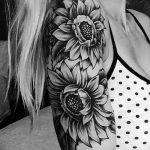 Фото черно-белые тату от 08.08.2018 №079 - black and white tattoos - tatufoto.com