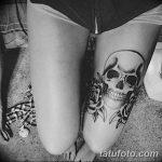 Фото черно-белые тату от 08.08.2018 №081 - black and white tattoos - tatufoto.com