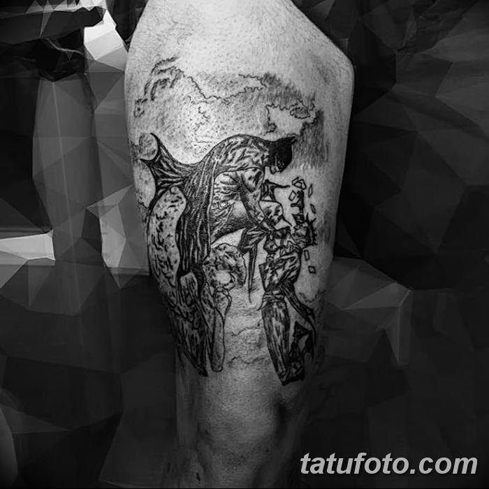Фото черно-белые тату от 08.08.2018 №086 - black and white tattoos - tatufoto.com