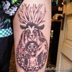 Фото черно-белые тату от 08.08.2018 №091 - black and white tattoos - tatufoto.com