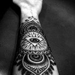 Фото черно-белые тату от 08.08.2018 №094 - black and white tattoos - tatufoto.com