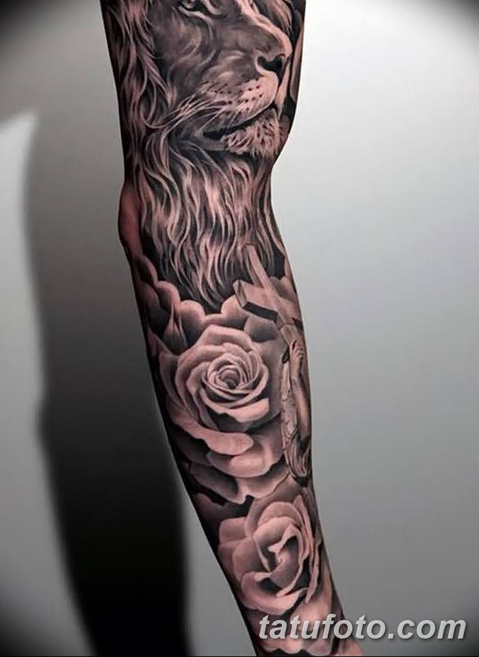 Фото черно-белые тату от 08.08.2018 №096 - black and white tattoos - tatufoto.com