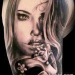 Фото черно-белые тату от 08.08.2018 №098 - black and white tattoos - tatufoto.com