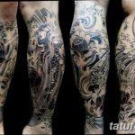 Фото черно-белые тату от 08.08.2018 №100 - black and white tattoos - tatufoto.com