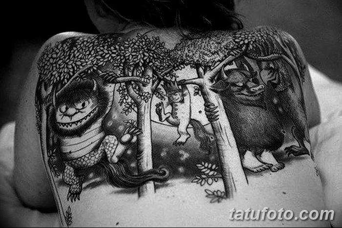 Фото черно-белые тату от 08.08.2018 №106 - black and white tattoos - tatufoto.com