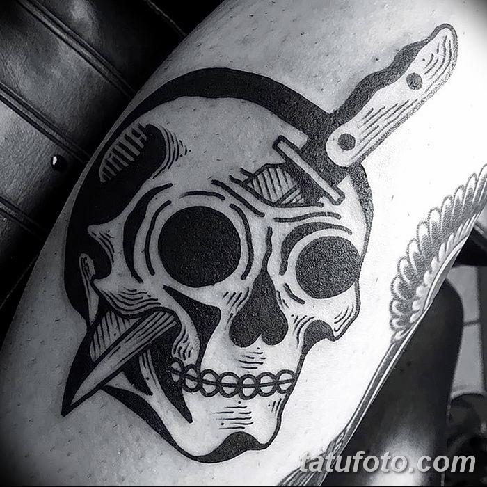Фото черно-белые тату от 08.08.2018 №134 - black and white tattoos - tatufoto.com