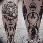 Фото черно-белые тату от 08.08.2018 №137 - black and white tattoos - tatufoto.com