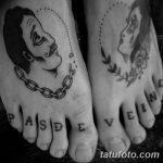 Фото черно-белые тату от 08.08.2018 №138 - black and white tattoos - tatufoto.com