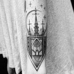 Фото черно-белые тату от 08.08.2018 №147 - black and white tattoos - tatufoto.com