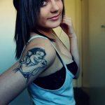 Фото черно-белые тату от 08.08.2018 №165 - black and white tattoos - tatufoto.com