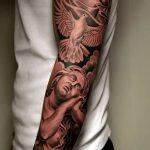 Фото черно-белые тату от 08.08.2018 №166 - black and white tattoos - tatufoto.com
