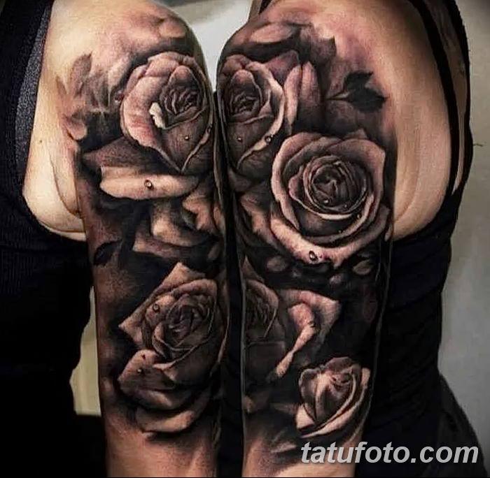 Фото черно-белые тату от 08.08.2018 №167 - black and white tattoos - tatufoto.com