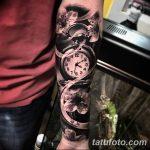 Фото черно-белые тату от 08.08.2018 №173 - black and white tattoos - tatufoto.com