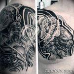 Фото черно-белые тату от 08.08.2018 №174 - black and white tattoos - tatufoto.com
