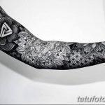 Фото черно-белые тату от 08.08.2018 №176 - black and white tattoos - tatufoto.com