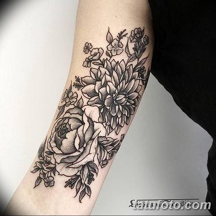 Фото черно-белые тату от 08.08.2018 №178 - black and white tattoos - tatufoto.com