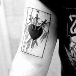 Фото черно-белые тату от 08.08.2018 №199 - black and white tattoos - tatufoto.com